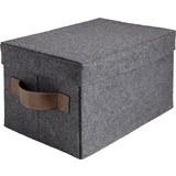 Box Linus Linus - Dunkelgrau, Kunststoff/Textil (39/26/21cm) - Mömax modern living