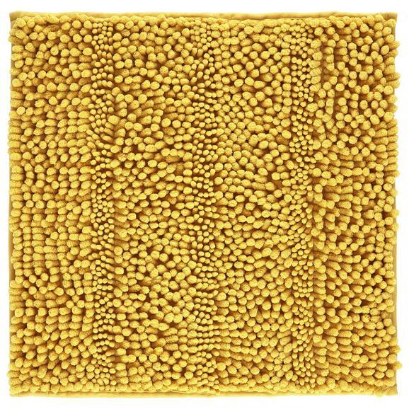 Badematte Uwe in Gelb ca. 50x50cm - Gelb, Basics, Textil (50/50cm) - Mömax modern living