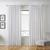 Vorhang Nikita aus Leinen ca.140x245cm - Weiß, Textil (140/245cm) - Mömax modern living
