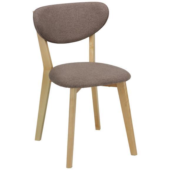 stuhl grau birkefarben online kaufen m max. Black Bedroom Furniture Sets. Home Design Ideas