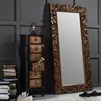 Wandspiegel Naturfarben 90x180cm - Naturfarben, LIFESTYLE, Holz/Holzwerkstoff (90/180/3,5cm) - Premium Living