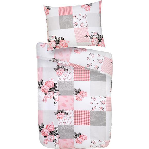 Posteljnina Louise - Ext- -top- - roza, Romantika, tekstil (140/200cm) - Mömax modern living