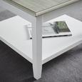 Couchtisch Claudia Vintage ca.65x65cm - Eichefarben/Weiß, KONVENTIONELL, Holz (65/65/45cm) - Modern Living