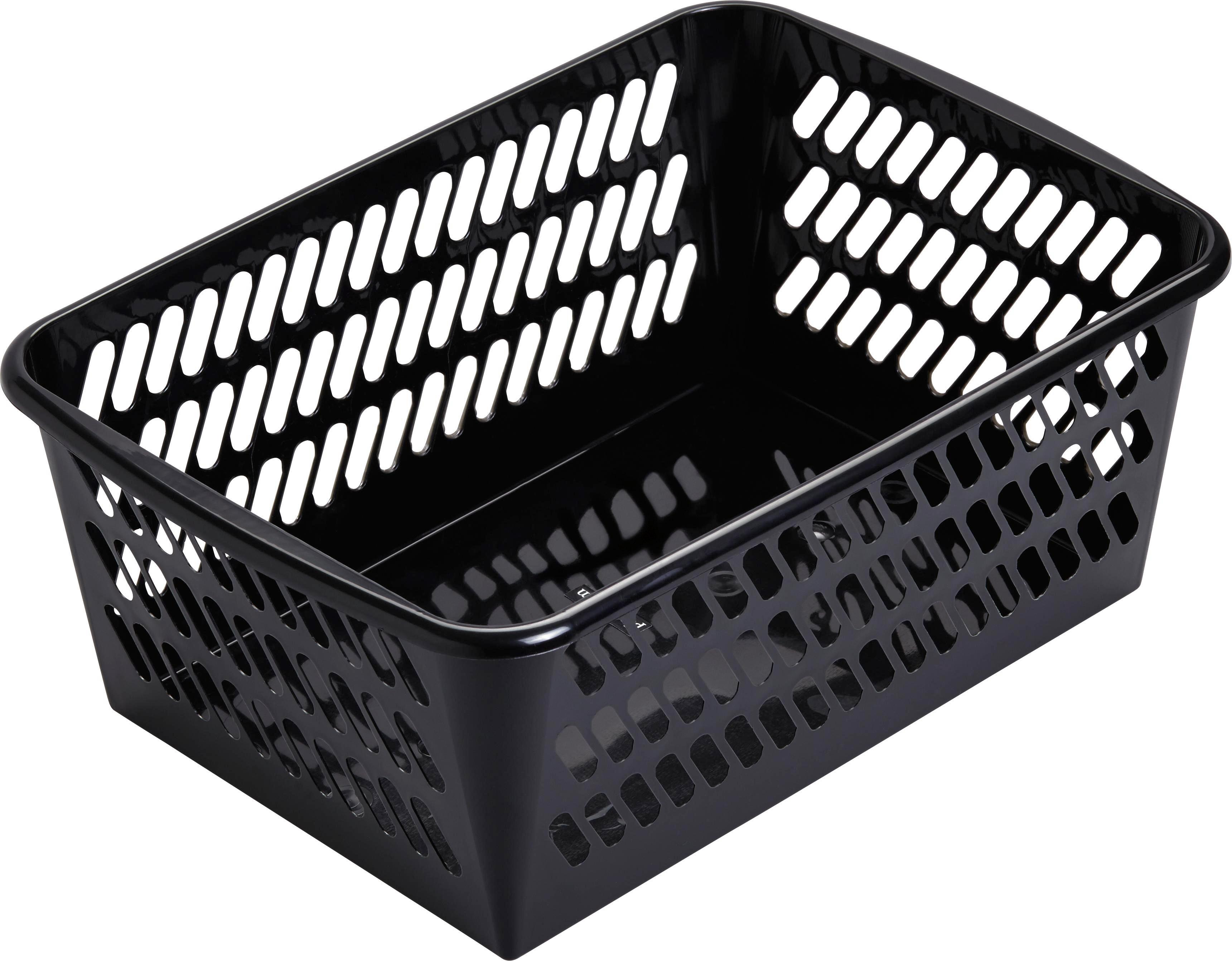 Kosár Mimi - fekete, műanyag (36,5/14,4/25,5cm) - MÖMAX modern living