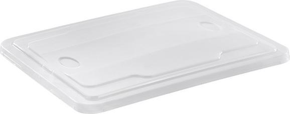 Boxdeckel Eurobox ca. 26 L - Klar, Kunststoff