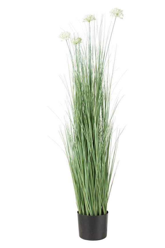 Kunstpflanze Sina Verschiedene Modelle - Lila/Hellgrün, KONVENTIONELL, Kunststoff/Metall (13,7/120cm) - Mömax modern living