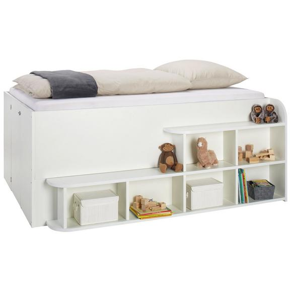 Bett in Weiß - Weiß, KONVENTIONELL, Holzwerkstoff (208/84,6/167cm) - Mömax modern living