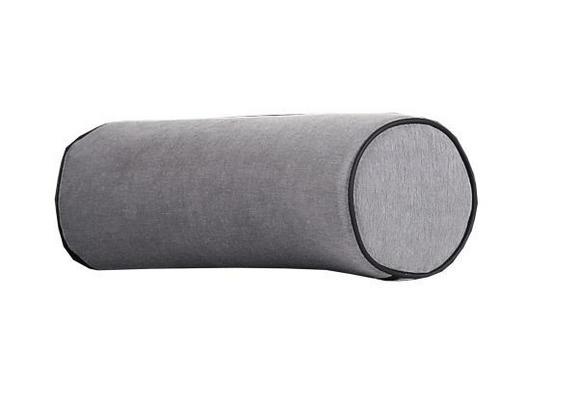 Valjasta Blazina Showtime - siva, Trendi, tekstil (22cm) - Premium Living