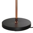 Stehleuchte Swing - Schwarz/Kupferfarben, MODERN, Metall (35/23/137cm) - Bessagi Home