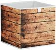 Aufbewahrungsbox Naturfarben - Naturfarben, MODERN, Karton/Textil (32/32/32cm) - Mömax modern living