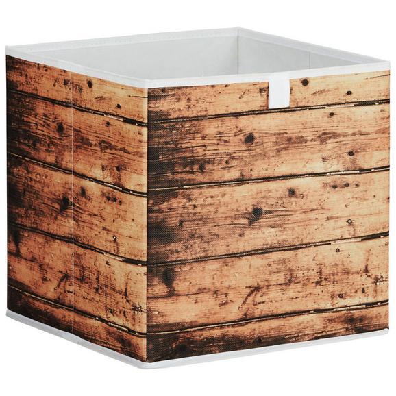 Škatla Za Shranjevanje Poppi 4 - naravna, Moderno, karton/tekstil (32/32/32cm) - Based