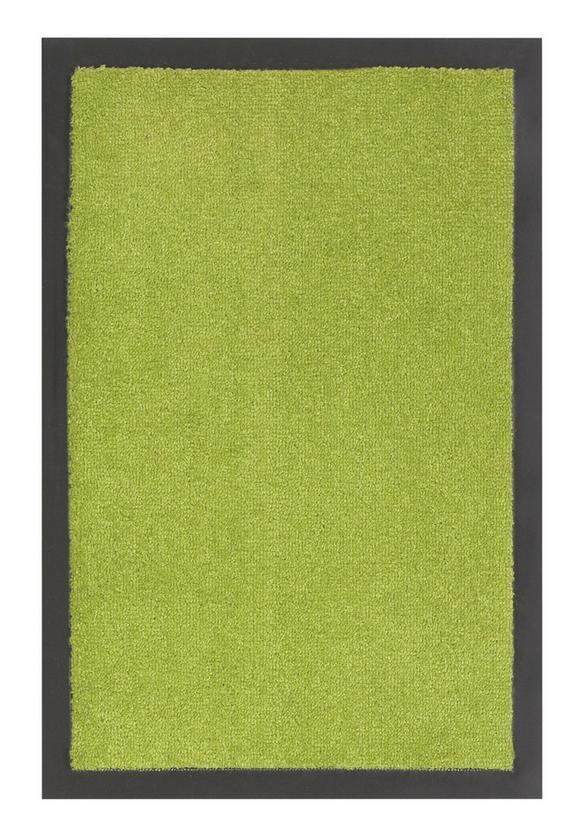 Fußmatte Eton Grün, ca. 40x60cm - Grün, LIFESTYLE, Textil (40/60cm) - Mömax modern living