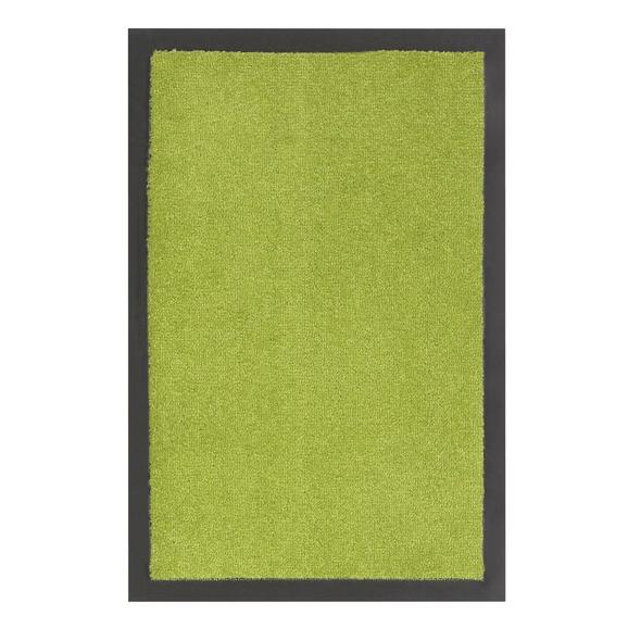 Fußmatte Eton in Grün ca. 40x60cm - Grün, LIFESTYLE, Textil (40/60cm) - Mömax modern living
