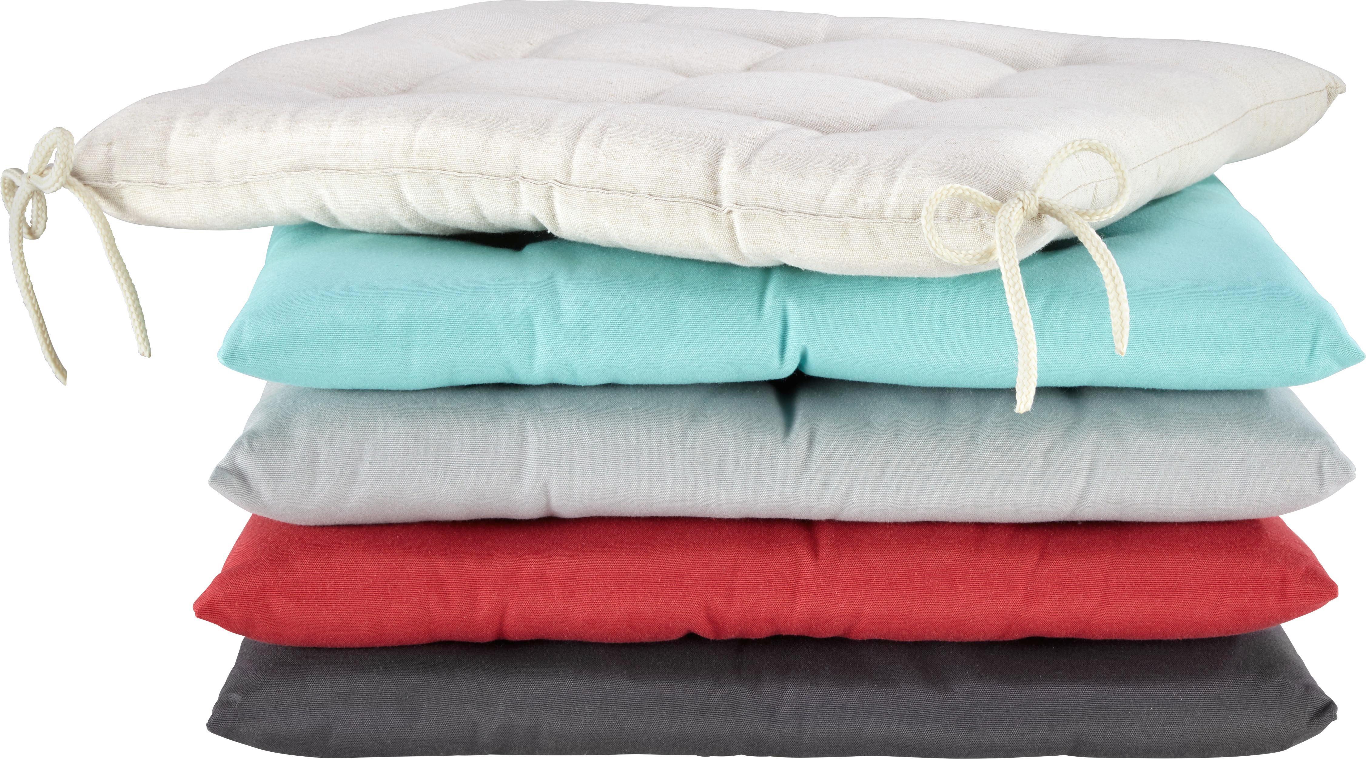 Ülőpárna Anita - bézs, textil (40/40/4cm) - MÖMAX modern living