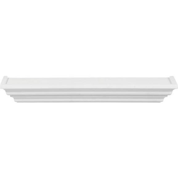 Wandboard Weiß - Weiß, ROMANTIK / LANDHAUS, Holz (60/7,5/12,5cm) - Mömax modern living