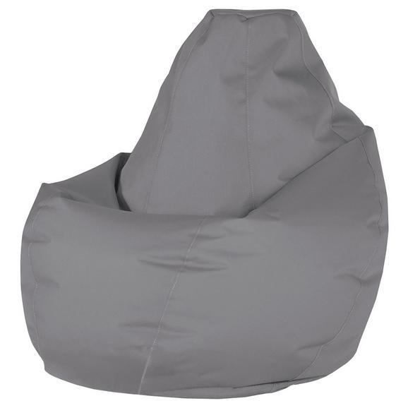 Vreča Za Sedenje Soft L - siva, Moderno, tekstil (120cm) - Mömax modern living