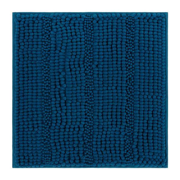 Badematte Uwe Petrol - Petrol, Textil (50/50cm) - MÖMAX modern living