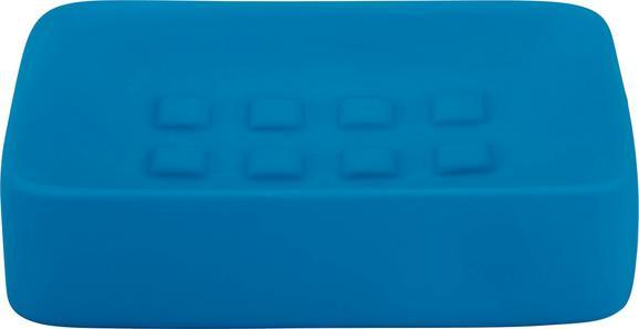 Seifenschale Melanie in Blau aus Keramik - Petrol, Keramik (8,3/12,5cm) - Mömax modern living