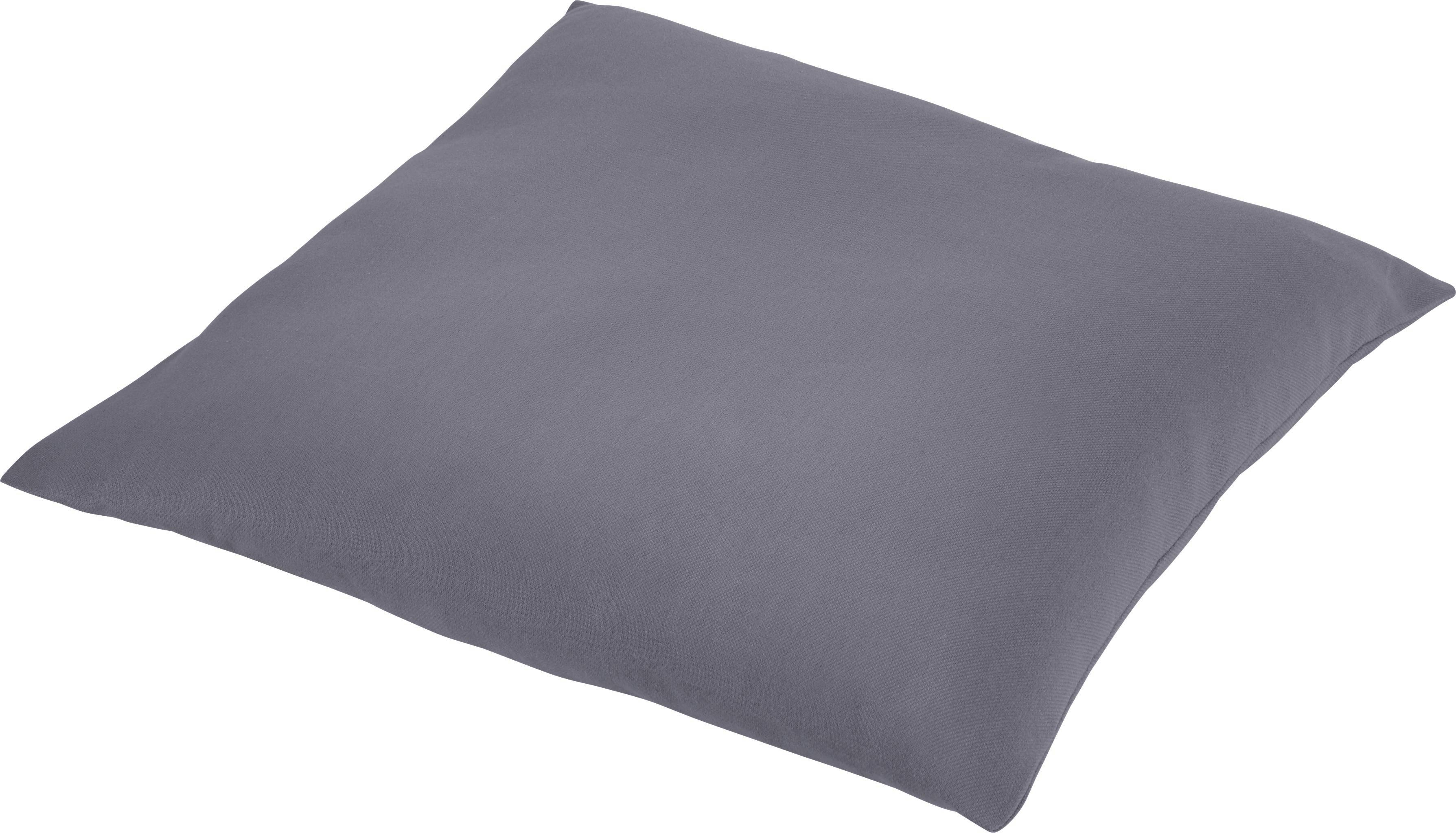 Zierkissen Diane 50x50cm - Grau, KONVENTIONELL, Textil (50/50cm) - MÖMAX modern living