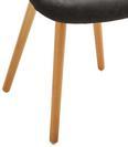 Stuhl Cowboy - Dunkelgrau/Buchefarben, MODERN, Holz/Kunststoff (63/80/46,5cm) - Modern Living