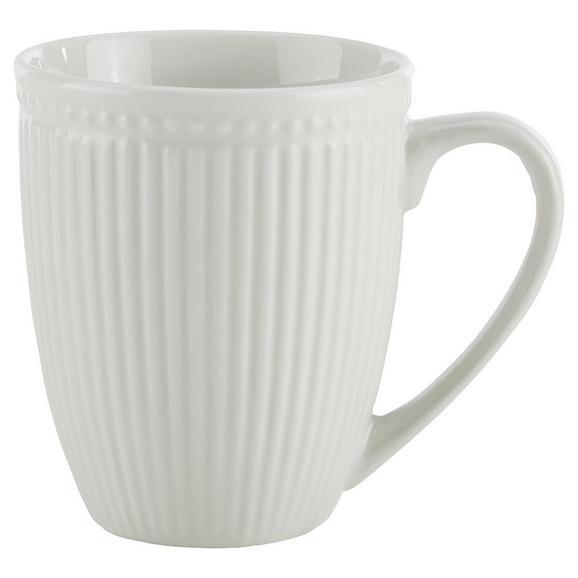Cană Pentru Cafea Celina - alb, Romantik / Landhaus, ceramică (9/10cm)