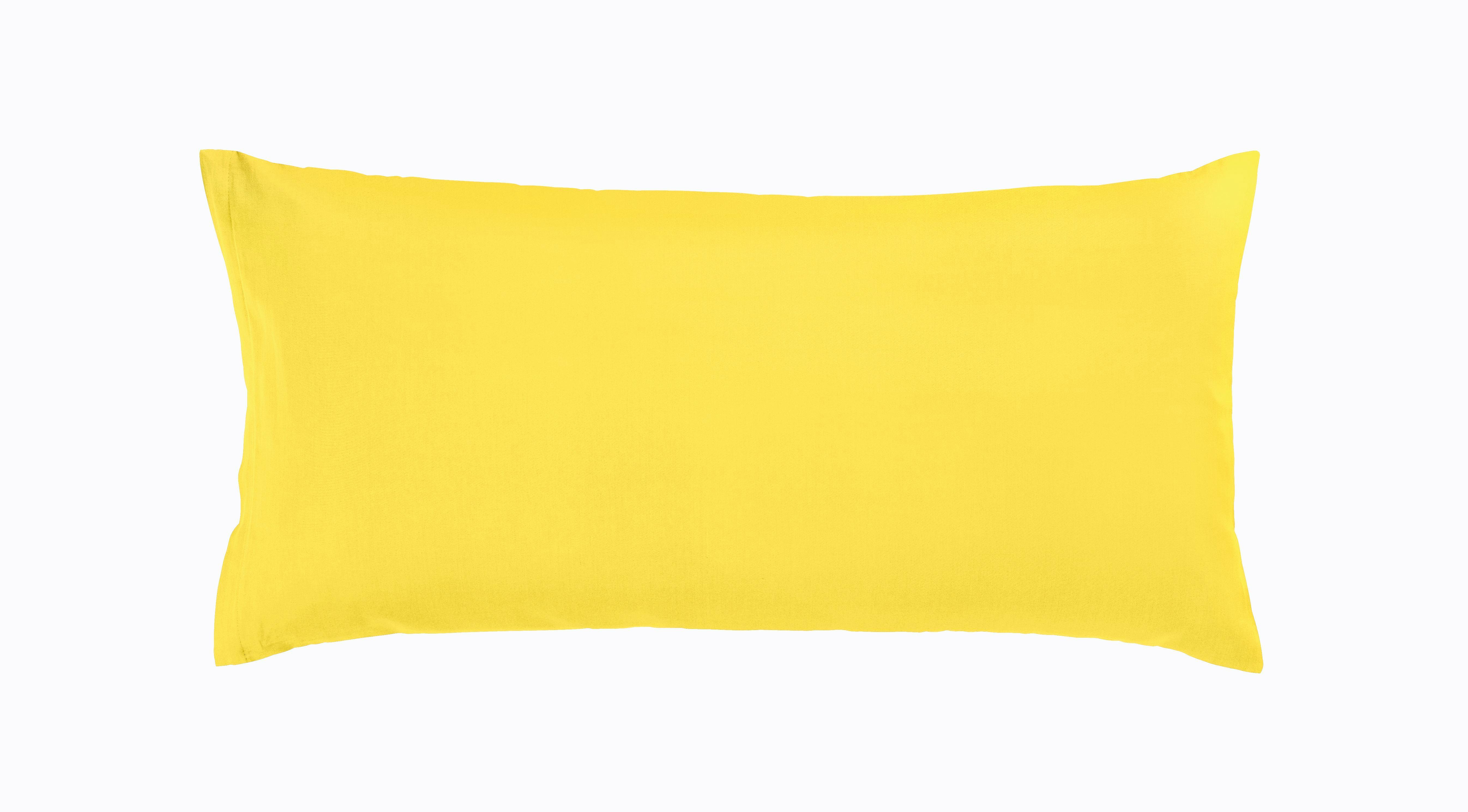 Párnahuzat Belinda - sárga/krém, textil (40/50cm) - premium living