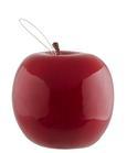 Dekoapfel Apfel in Rot - Rot, Kunststoff (8 cm cm)