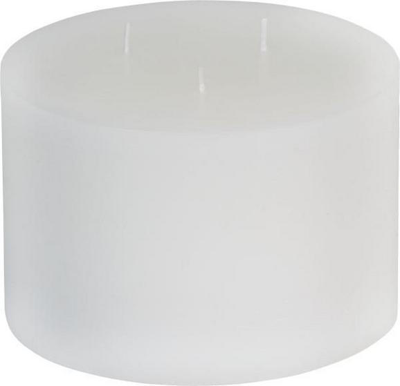 Sveča Vera - rdeča/bela, Moderno (17/14cm) - Mömax modern living