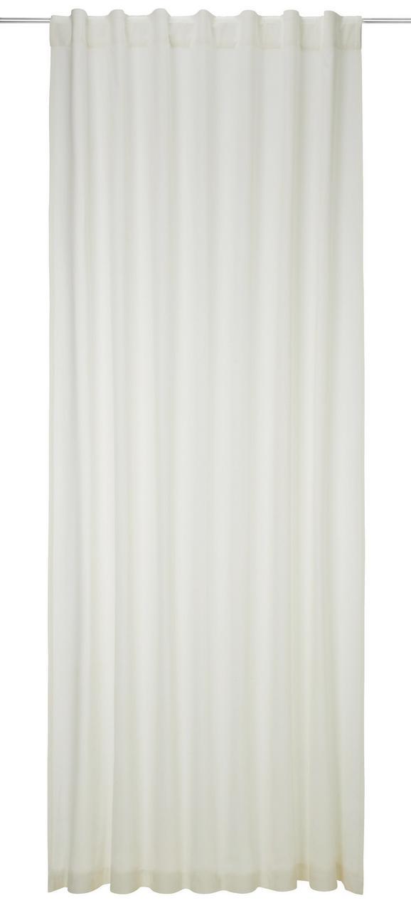 Zavesa Z Zankami Ella - naravna, Moderno, tekstil (140/255cm) - Premium Living