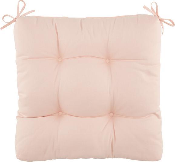 Sedežna Blazina Elli - roza, tekstil (40/40/7cm) - Mömax modern living
