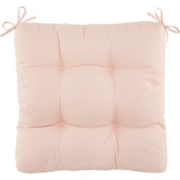 Sitzkissen Elli ca. 40x40cm - Rosa, Textil (40/40/7cm) - Based