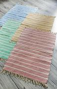 Handwebteppich Toni - Rosa, MODERN, Textil (60/120cm) - Mömax modern living