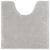 WC-Vorleger Nelly ca. 50x50cm - Silberfarben, Textil (50l) - Mömax modern living