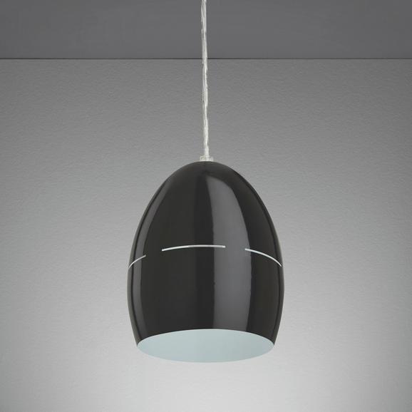 Hängeleuchte Bora - Schwarz, MODERN, Metall (16,5/16,5/127cm) - Mömax modern living
