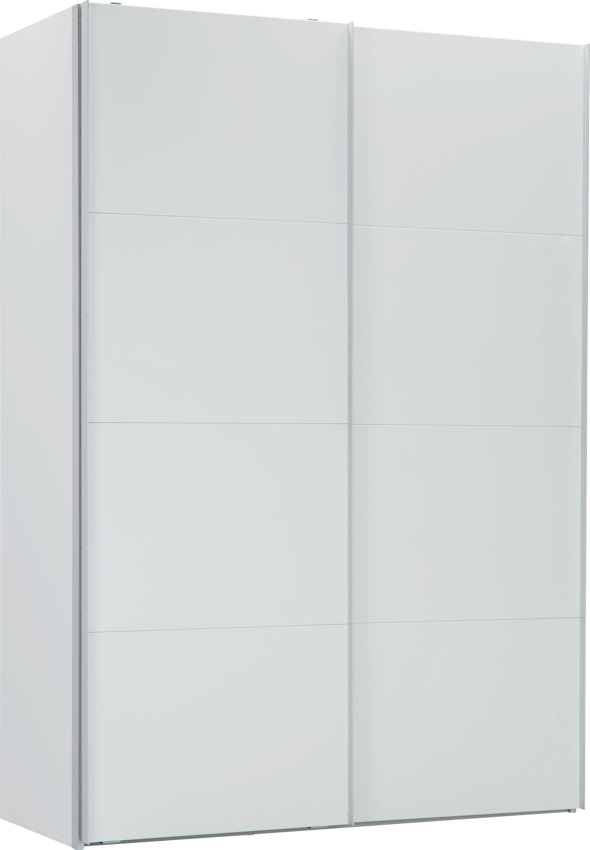 Schwebetürenschrank weiß  Schwebetürenschrank in Weiß mit 2 Türen online kaufen ➤ mömax