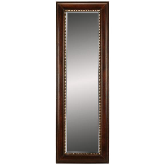 Standspiegel Natur/Gold - Goldfarben/Naturfarben, LIFESTYLE, Glas/Holz (60/180/3,5cm) - Modern Living