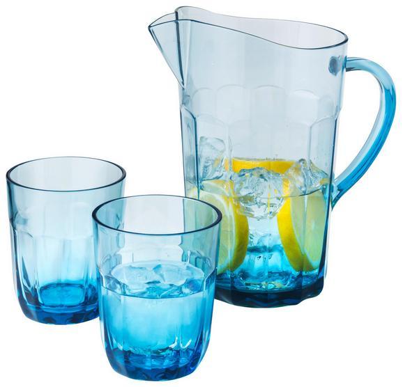 Saftkrug Jamie Blau - Blau, Kunststoff (15,9/23,0/15,6cm)