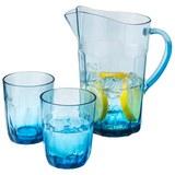 Saftkrug Jamie in Blau - Blau, Kunststoff (15,9/23,0/15,6cm)