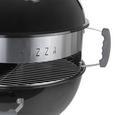 Grătar Barbecue Grillmax - argintiu/negru, plastic/metal (71,5/124/58cm) - Modern Living
