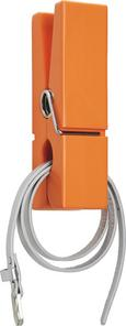 Wandhalter Gams in Orange aus Holz - Orange, Holz (20/5/7,5cm) - Mömax modern living