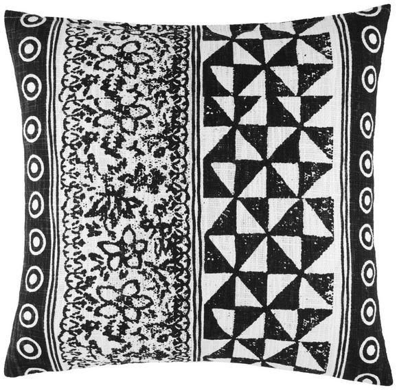 Okrasna Blazina Harare 1 - naravna/črna, Trendi, tekstil (45/45cm) - Mömax modern living