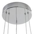 VISEČA LED-SVETILKA FORLI -EÖ- - krom, Moderno, kovina/umetna masa (40/100-150cm) - Mömax modern living