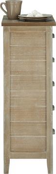 Kommode Savannah Antik - Braun, Holz/Metall (50/92/33cm) - premium living