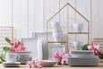 Kombiservice Katja 30-teilig Weiß - Weiß, Keramik - Premium Living