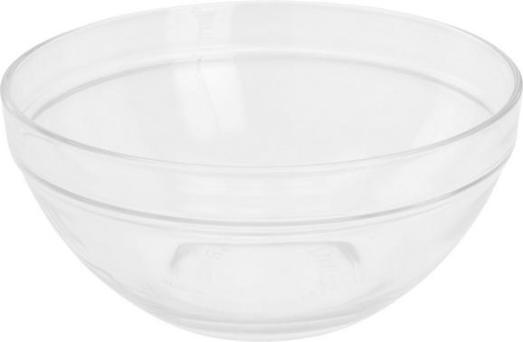 Schüssel Petra aus Glas - Klar, Glas (17/7,5cm) - Mömax modern living