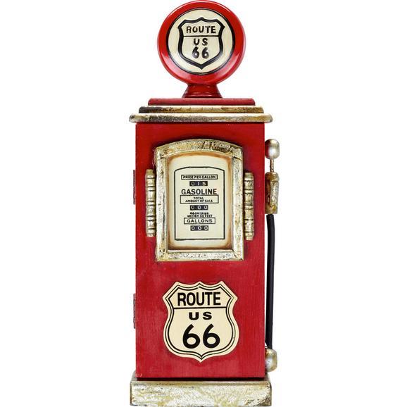 Omarica Za Ključe Route 66 - rdeča, Trendi, leseni material (17/48/8cm) - Mömax modern living