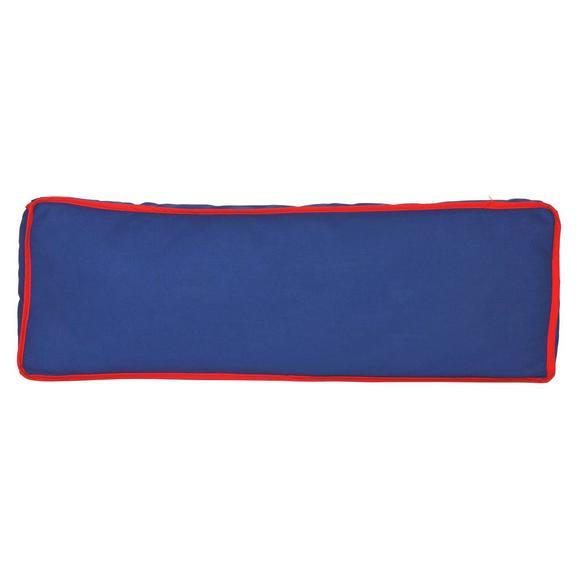 KINDERKISSEN SEITENKISSEN - Blau/Rot, Design, Textil (88/11/30cm)