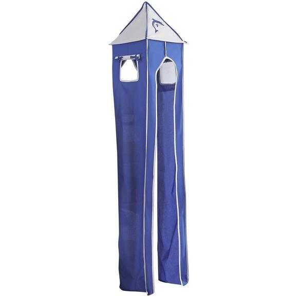 Turmset Turm-set Klein - Blau/Weiß, Design, Textil (40/200/40cm)