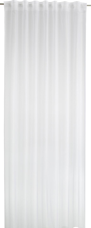 FERTIGVORHANG Rita Weiß 140x245cm - Weiß, Textil (140/245cm) - Mömax modern living