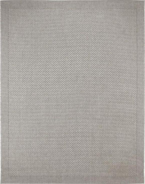 Flachwebeteppich Grace in Grau, ca. 80x200cm - Grau, MODERN, Textil (80/200cm) - Mömax modern living